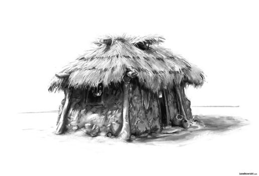 Mud Hut by Wildweasel339
