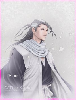 BLEACH - BYAKUYA Your Highness by Washu-M