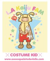 Costume Kid - L.A Kaiju FAM by ExoesqueletoDV