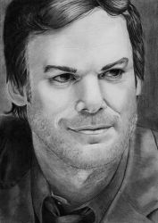 Michael C. Hall by VikkyIo