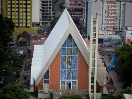 Metropolitan Cathedral of Londrina by seek-and-hide