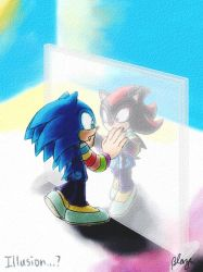 Sonic and Shadow by SidusPrime