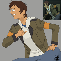 Lance from Voltron by Haranormi