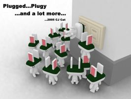 Plugged Pluggy and alot more by cjcat2266