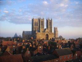 Lincoln's cathedral by Aka-san