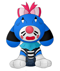 Bubble's Mime Costume by Unownace