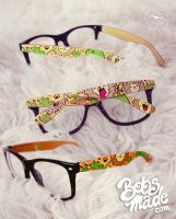 Lions and Lizards Glasses by Bobsmade