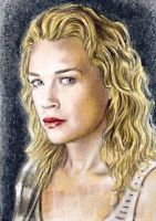 Laurie Holden mini-portrait by whu-wei