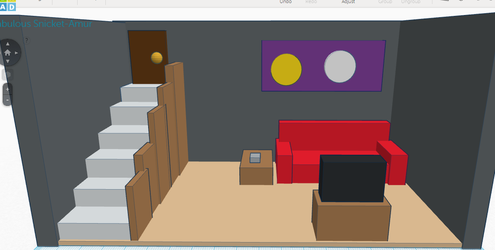 Tinkercad Basement by Cerberus-Chaos