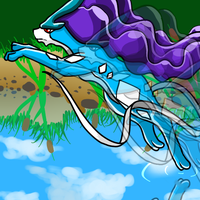 Pokemon Challenge - Suicune by SkyTheLugia