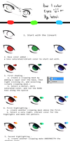 Little tutorial: coloring eyes by indui