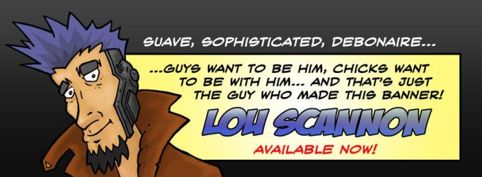 Lou Scannon banner by hde2009