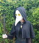 Plague doctor costume  by Eldritch-Error
