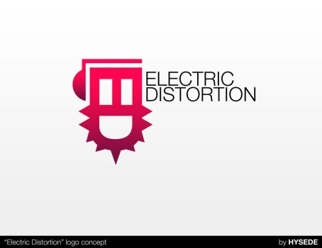 ELECTRICDISTORTIONLOGOCONCEPT by acidDOTdica