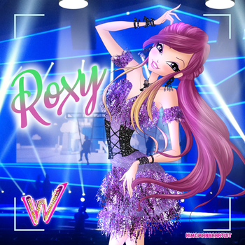 Roxy Flapper Style Couture by HimoMangaArtist