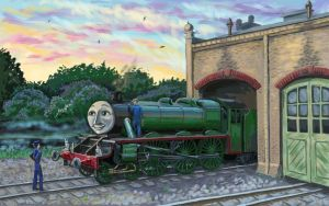 Morning in Tidmouth by LadyEngineer