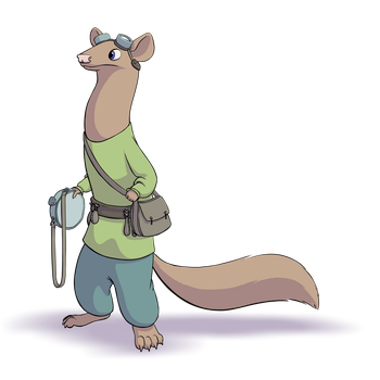 Skyweasel by HyraxAttax