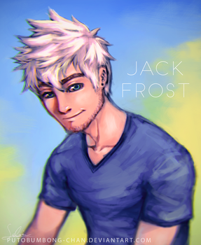 Jack Frost Fan Art by putobumbong-chan
