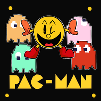 Pac-Man - Graphic Design by RamyunKing