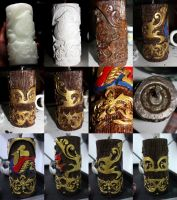 Step By Step Candle Designing by ffdiaries958