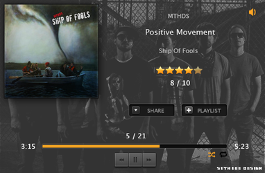 Positive Movement - Music Player Design by seyheee