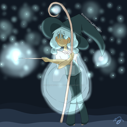Light  Witch by screaming-pinepples