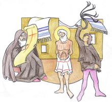 Matthew 10:17 (Persecutions Foretold) by Parastos