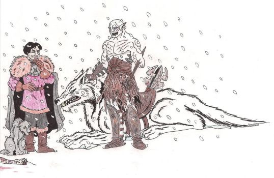 Ramsay meets Azog colored by zoccu