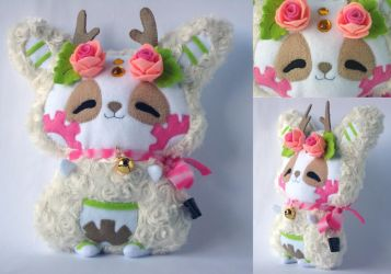 Mimiero's Pandeer Plush Commission by Pwyllo