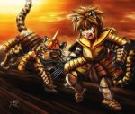 Tiger Warrior by SheltieWolf