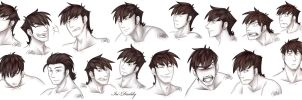 Many faces of Avarus by Isi-Daddy