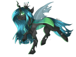 [MLP] Chrysalis is the best queen by AkiiiChaos