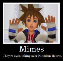 Kingdom Hearts- Mimes by TwilightKeyblade928