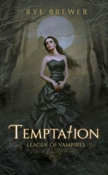 BOOK COVER VIII -TEMPTATION by MirellaSantana