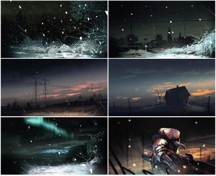 May Speedpaints by bradwright