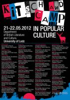 Kitsch and Camp Poster by Verine