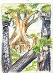 tropical sketch 1 by Laterne-Magica