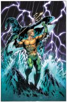 Aquaman colors by warballoon
