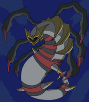 Giratina Origin Forme (Collaboration) by Verkins