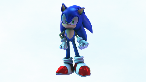 Sonic Unleashed Pose Recreation by Somarix
