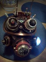 Steampunk Outlaw Mask by pinochioO-5