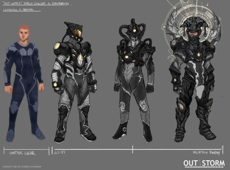 Out of the Storm - Early Concept Design- Unlit by Cedirvin