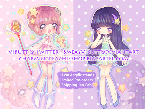3 pairs left! CCS Acrylic stands! by ViPOP