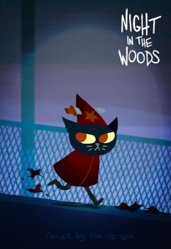 Night in the woods - Witchdaggah by NoemieSzm