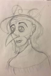 Raven__ Don Bluth by BeanSkelly