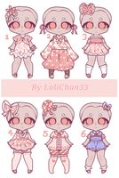 {OPEN} PEACH CLOTHES by LoliChan33