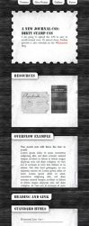Dirty Stamp CSS by bendenfield