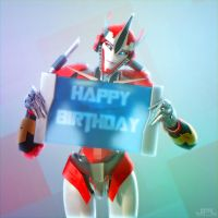 Happy Birthday Lady Elita One by JPL-Animation