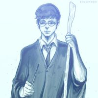 HARRY POTTER by olczynski