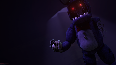 (FNaF SFM) A simple Withered Bonnie poster by Fer-Ge